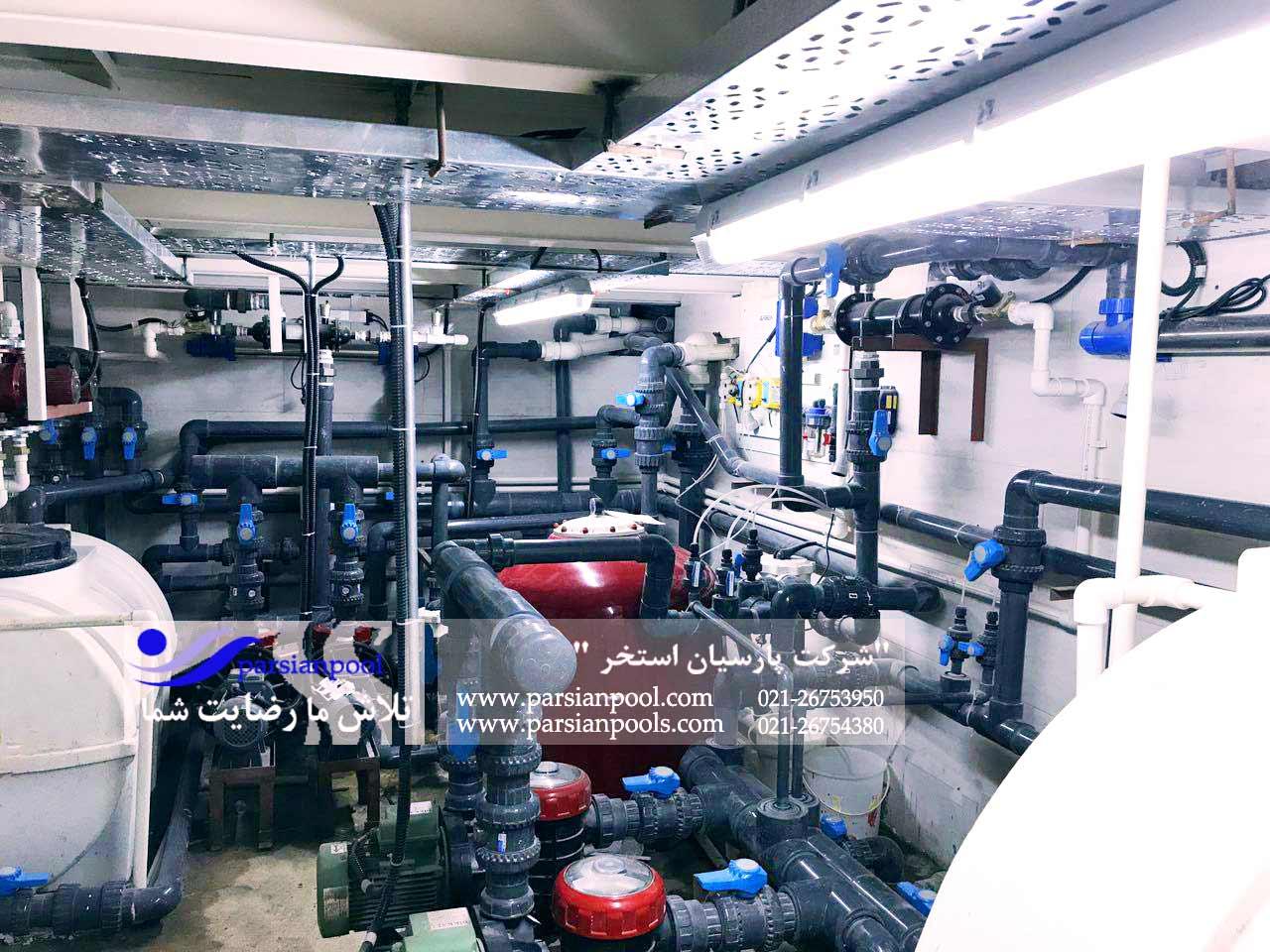 تجهیزات تصفیه آب استخر