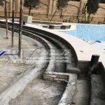 آب بندی استخر